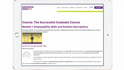 successful graduate course